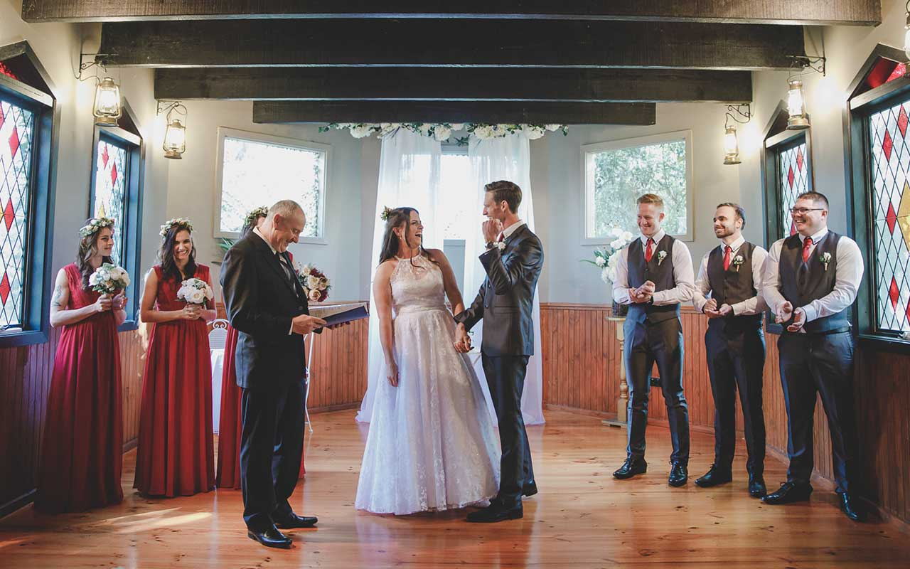 Avalon Castle Chapel Wedding